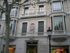 Restauración Patrimonio Paseo de Gracia,60