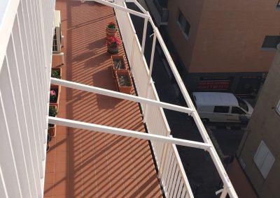 Anclaje de Baranda en edificio, Eduard Tubau 6-8