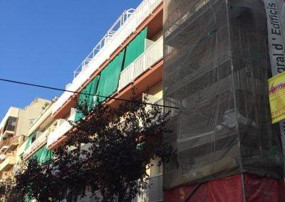 Edificio de Rehabilitación integral en Barcelona