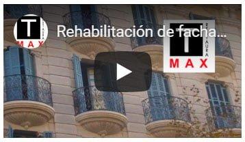 Ejemplo de Rehabilitación de fachadas
