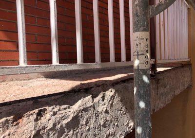Arreglo de Forjado en Balcón