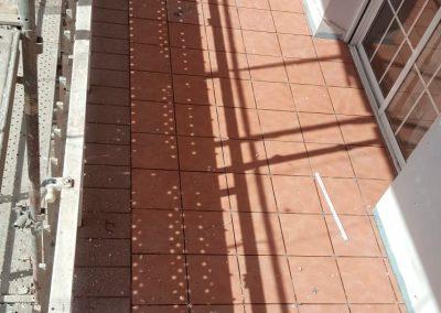 Trabajo de Impermeabilización en Balcones