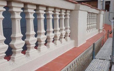 Reparación en Fachada de Calle Mont-ros, 6 (Barrio de Sants)