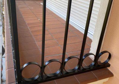 Barandillas de forja para balcones