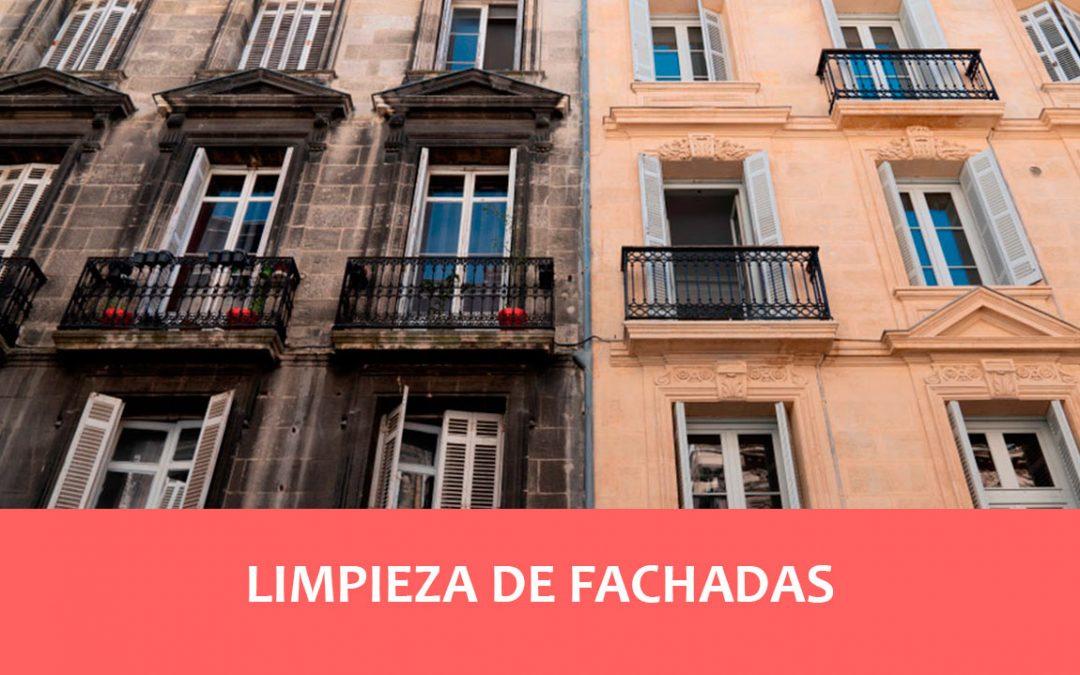 limpieza de fachadas en Barcelona