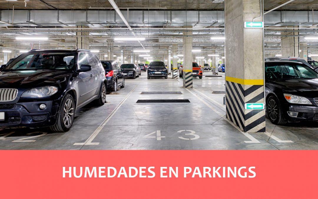 Humedades en Parkings