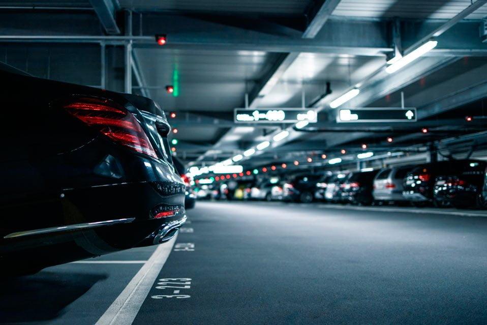 parking nuevo restaurado